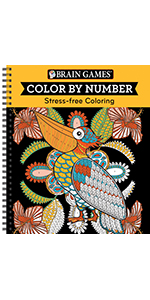 color by numbers for adults book grown up teen coloring book brain games
