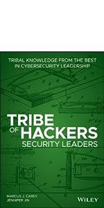 tribe of hackers, cybersecurity, hacking, marcus j. carey, jennifer jin