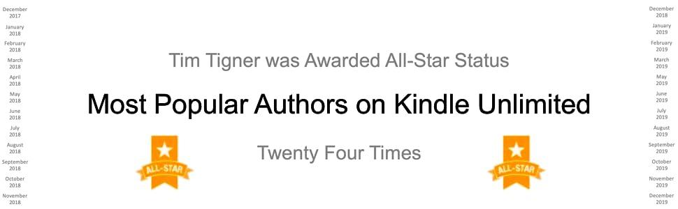 Most Popular, Unlimited, All Star, All-Star Author, Reacher, Rapp, Harvath, Flynn, Silva, Allon, Spy