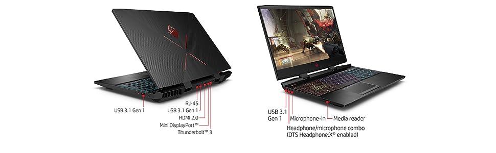 HP OMEN 15-dc0003na 15 6 Inch Gaming Laptop - (Black) (Intel i7-8750H, 8 GB  RAM, 1 TB Plus 128 GB SSD, NVIDIA GeForce GTX 1050 Ti Graphics, 4 GB GDDR5
