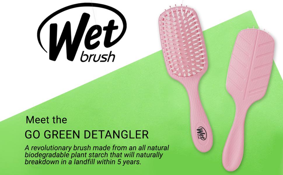 Wet Brush Hair Brush Go Green Treatment & Shine