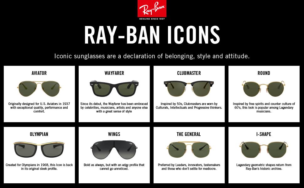Ray-Ban Icons