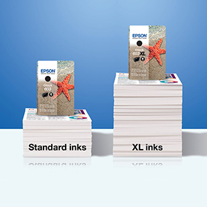 epson ink, starfish, four-colour ink, genuine epson ink, genuine ink, cartridges, paper