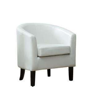Amazon Com Belleze Club Chair Tub Faux Leather Armchair