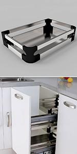 Kitchen Blind Corner Storage Unit
