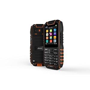 Plum Ram 4 Rugged Phone Unlocked GSM Waterproof Shockproof IP68 Certified