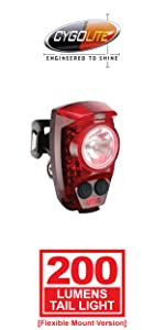 950 lumen usb rechargeable bike light