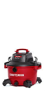 craftsman 12 gallon heavy duty vac with attachments