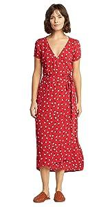 Womens Midi Dress Rayon Material Quality craftsmanship