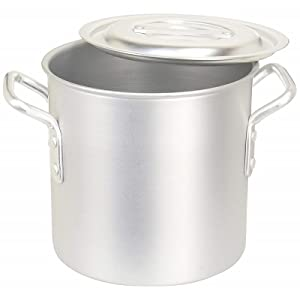 寸胴鍋 (アルマイト加工) アルミニウム