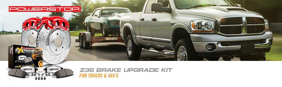 brake kit, truck brake kit, towing brakes, truck and tow brake kit, truck performance