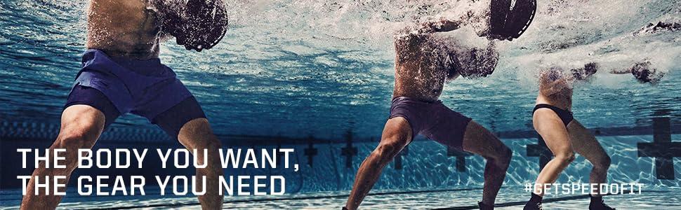 Amazon.com : Speedo Fit Push Plate, One Size, Black : Sports ...