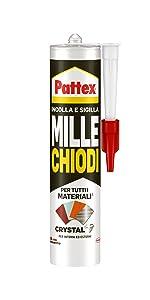 Pattex Crystal sterke en snelle slang, licht en snel