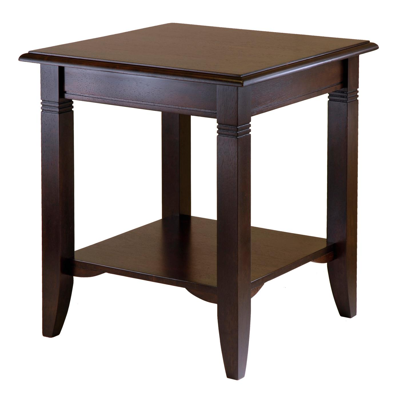 Amazon.com: Winsome Wood Nolan End Table: Kitchen & Dining