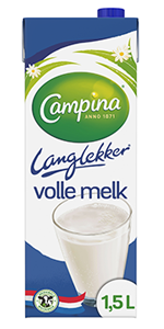 Volle melk 1.5 liter
