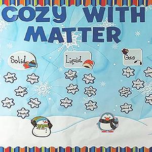 winter mini Bulletin Board Set