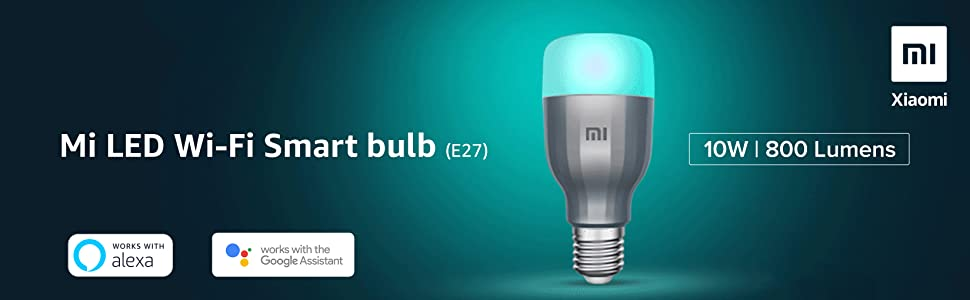 Mi Mi LED Wi-Fi Bulb, Smart Light