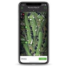 GPS Rangefinder distance plays like caddie smart course map watch laser