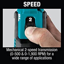 speed mechanical two 2-speed trransmission rpm rotations per minute wide range of applications