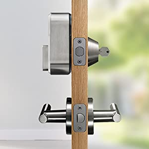 august smart lock, smart home, smart lock, easy install lock