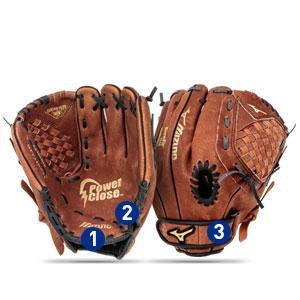 de1be0948ef50 The Mizuno Prospect glove is made to help younger players fall in love with  the game. Packed with innovative features