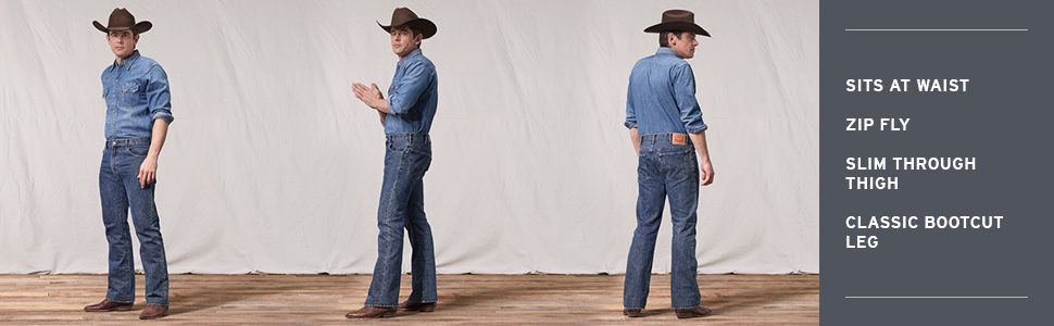517 Bootcut Fit