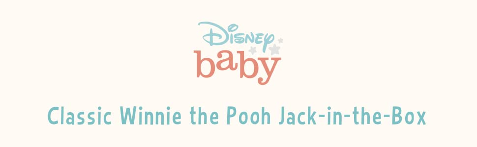 Disney Baby, Classic Winnie the Pooh Jack in the box