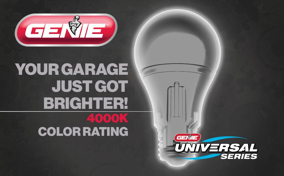 gENIE LED UNIVERSAL GARAGE DOOR OPENER LIGHT BULB
