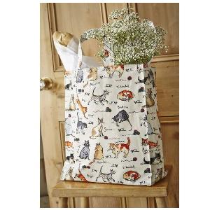 Ulster Weavers Madeleine Floyd Cats PVC Gusset Bag, Medium: Amazon.ca: Home & Kitchen