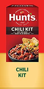 Hunt's chili kit