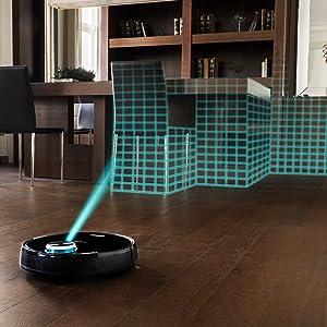 Robot con laser