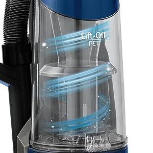 Pet Vacuum, Best vacuum, Lift off vacuum, Multi-surface, carpet cleaner, bagless vacuum, swivel