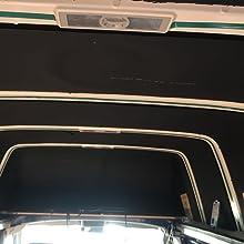 extra starker Halt Klebeband doppelseitig WEICON 14050319 Montage grau hohe Flexibilit/ät Auto Outdoor Fliegengitter Fenster Boot Camping