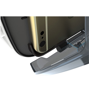 Fit Phone Perfectly Two-way tray to prevent the phone from shaking.