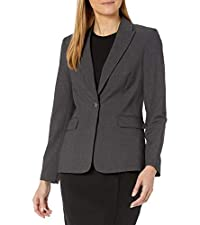 One Button Lux Blazer