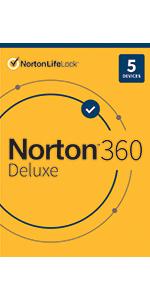 Norton 360 Deluxe, anitivirus softare