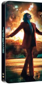JOKER steelbook blu ray imax