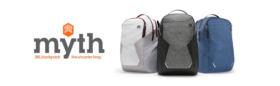 8811769762 Amazon.com  STM Myth Backpack Featuring Luggage Pass-Through 28L ...