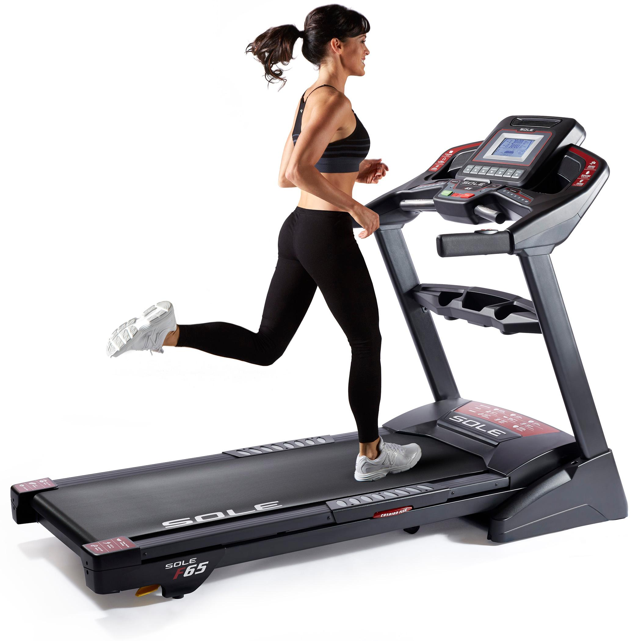 Life Fitness Treadmill Canada: SOLE Fitness F65 Folding Treadmill Machine