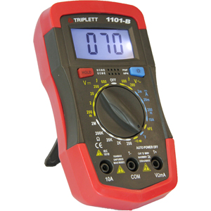 handheld multimeter with auto power off