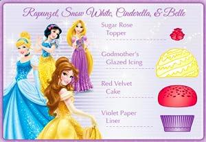 frozen, elsa, anna, moana, cinderella, ariel, dessert, party