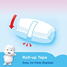 Roll-up Tape Diaper