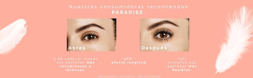 28b8a258b61 L'Oréal Paris Paradise Extatic - Máscara de Pestañas, Volumen y ...