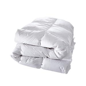 Bettdecke mit Daunen und Federn