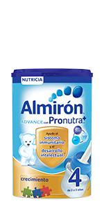 Almirón Advance con Pronutra 2 Leche de continuación en polvo desde los 6 meses 800 g: Amazon.es: Alimentación y bebidas