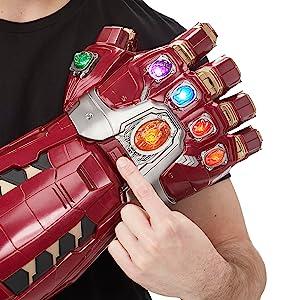 marvel legends series; infinity gauntlet; power gauntlet; avengers endgame; infinity war