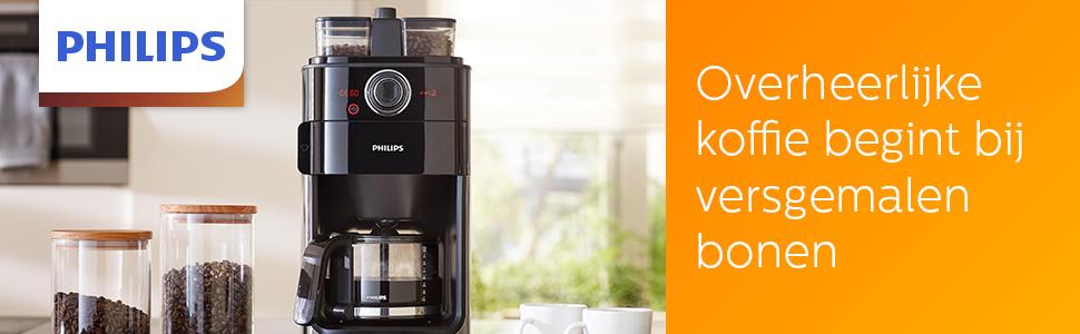 Koffiezetapparaat Grind & Brew HD7769/00