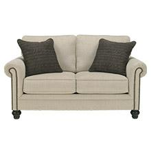 Signature Design By Ashley Jarreau Contemporary Upholstered Sofa Chaise Sleeper Gray