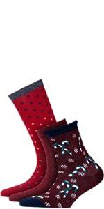 Einheitsgr/ö/ße - Auff/älliger Sommerstrumpf mit abstraktem Argylemuster Baumwollmischung BURLINGTON Damen Socken Argyle Love 1 Paar 36-41 Farben Versch