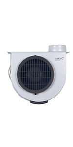 Cata GS-400 M Extractor centrífugo de Cocina, 60 W, 60 Decibeles, De plástico, Blanco y Gris: Amazon.es: Grandes electrodomésticos